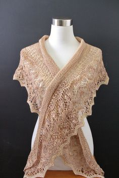Ravelry: Botanical Garden Shawl pattern by Kristen Finlay Pattern is about $3.98 US 6 Needles