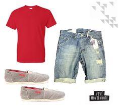 #LookDeLaSemana Men casual look. YUPIE Shoes #Espadrilles #Alpargatas. Combina tus Yupie con una bermuda y una remera básica.