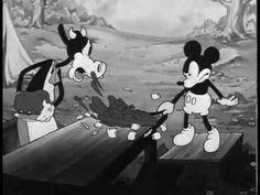 Ralph Mouse - Camping Out - 1934 Retro Cartoons, Old Cartoons, Vintage Cartoon, Animated Cartoons, Vintage Mickey, Classic Cartoons, Walt Disney Cartoons, Walt Disney Pixar, Disney Movies
