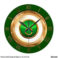 Taurus Astrological Sign Large Clock | 15% OFF anything | Enter coupon code ALLOVERSTYLE during checkout |. Good through April 6, 2016 11:59PM PT