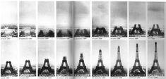 Fasi di costruzione della Torre Eiffel