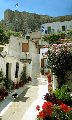 Old Town, Athens.