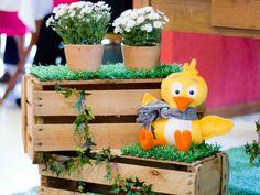 Decoração de festa infantil | Fazendinha da Galinha Pintadinha