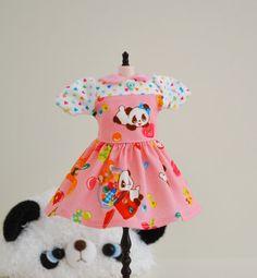 BLYTHE Dress Panda Candy By Sweet Petite by SweetPetiteShoppe
