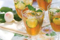 Cucumber Pimm's Cup - Victoria magazine
