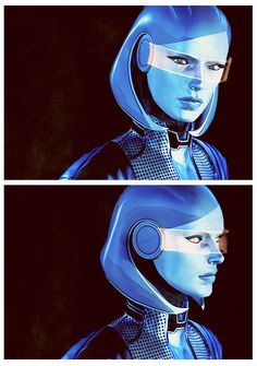 the a.i. EDI // Mass Effect 3
