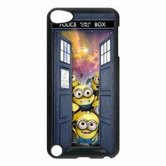 Amazon.com: Tardis Doctor Who Police Box Durable Case Cover for Ipod Touch 5: Cell Phones  Accessories