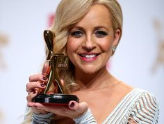 The two things Carrie Bickmore is most proud of today.#tvweeklogies #logies
