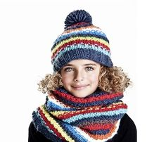 Colourful and cozy winter hats to brighten up grey days.