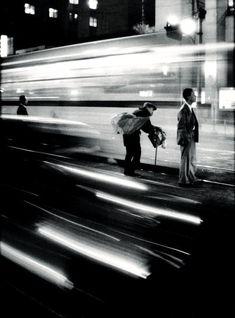 Eugene Smith :: Train Station, Japan, 1961 / more [+] by this photographer Motion Photography, Film Photography, Street Photography, Panning Photography, Tucson, Kansas, Arizona, Urbane Fotografie, Eugene Smith
