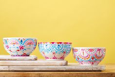 Painted bowls // Homemaker Issue 44 // Image: cliqq.co.uk