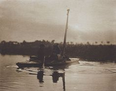 Children of the Broad  	  Emerson, Peter Henry, b.1856-1936  On English Lagoons, 1890  11.1 x 14.3 cm  Photogravure