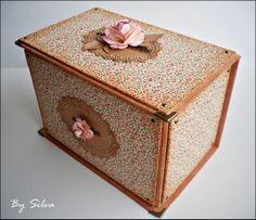 Handmade box - karp