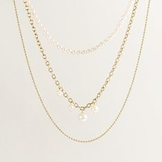 delicate gold necklaces