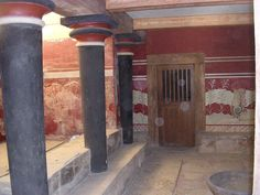 Colorful frescoes of Knossos | © VIATOR IMPERI/Flickr