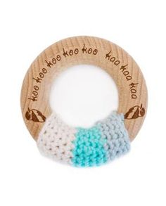 Our teething rings provide something hard to chew on, for much-needed relief from sore gums