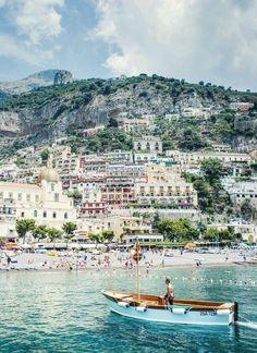Positano, Italy.