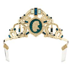 Merida's Tiara: Fiery Band - The headstrong Merida needs to keep her fiery red hair under control, and how better than with a glamorous gold tiara? Your highland highness can imagine herself as the Brave princess when she crowns herself with this Merida tiara.