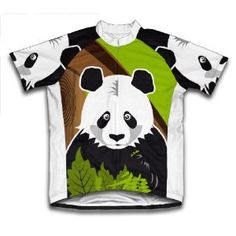 panda cycling jersey...too cute!