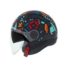 Κράνος Jet #Nexx SX.10 Chloe Black Matt Motorcycle Helmets, Bicycle Helmet, Chloe, Hats, Hard Hats, Blue, Hat, Cycling Helmet, Hipster Hat