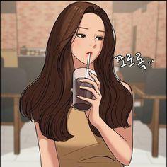 Webtoon the secret of angel Cute Couple Drawings, Cool Art Drawings, Cartoon Drawings, Hot Anime Boy, Kawaii Anime Girl, Anime Art Girl, The Secret, Art Hoe Aesthetic, Beautiful Anime Girl