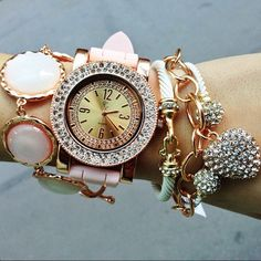 Gold and Pink! #CCStyle