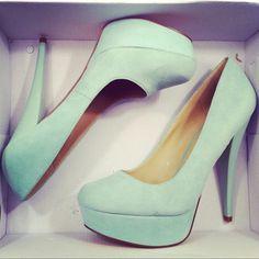 mint coral shoes