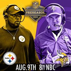 Welcome back football! #PITvsMIN by nfl check out theleftbench.com! check out theleftbench.com for more sports!