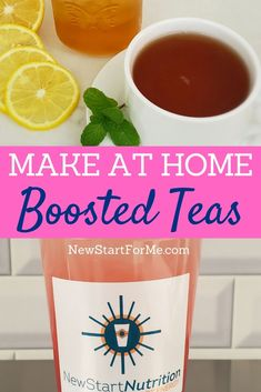 You can learn how to make boosted teas at home and then start getting energy in the healthiest way possible right at home. Herbalife Shake Recipes, Herbalife Nutrition, Healthy Smoothies, Healthy Drinks, Healthy Breakfasts, Fruit Smoothies, Eating Healthy, Herbalife Motivation, Wellness