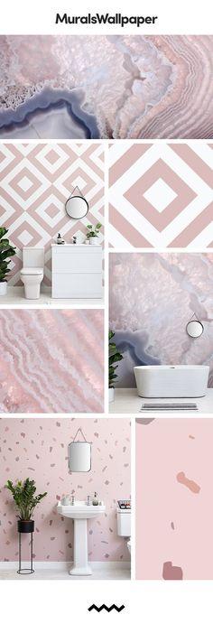 Erstellen Sie Einen Schönen Rosaen Raum Mit Diesen Rosaen Badezimmer Tapeten  Ideen. Diese Niedlichen Rosaen Designs Sind Perfekt Für Ein Modernes Und  Buntes ...