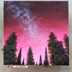 What is Your Painting Style? How do you find your own painting style? What is your painting style? Easy Canvas Art, Easy Canvas Painting, Simple Acrylic Paintings, Acrylic Canvas, Sillouette Painting, Galaxy Painting Acrylic, Purple Painting, Pour Painting, Diy Canvas