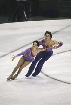 Kitty and Peter Carruthers - 1984 Olympic Pair Skating Silver Medalists - Getty Images