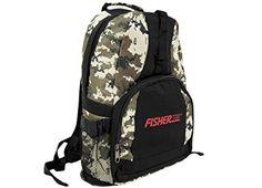 Fisher Metal Detector Camo Backpack