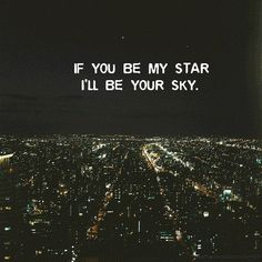 I will my darling <3