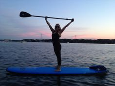 Stand Up Paddleboard Yoga with SUP YO! www.sup-yo.com