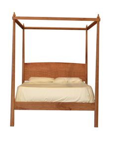 Pencil Post Bed With Canopy Platform Bed