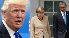 President Trump Gives Nasty Surprise To Obama and Merkel After They Trie...