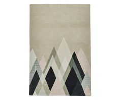 With a selection of neutral tones with a striking triangle design, this abstract Michelle Collins rug is a great designer rug to add to your home. Hand tufted with high quality materials, this modern rug is stylish and soft underfoot. Dark Grey Rug, Grey Rugs, Modern Rugs, Modern Decor, Luxury Loft, Triangle Design, Hand Tufted Rugs, Stand Tall, Color Pallets