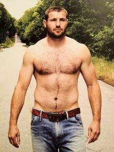 Hairy Muscle Bear. Men. Beards. Country. Ben Cohen.