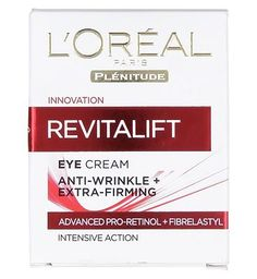 Loreal  Revitalift Anti-wrinkle and Firming Eye 20 Advantage card points. LOreal Revitalift Anti-wrinkle and Firming Eye Cream is a light anti-ageing eye cream to fight against fine lines and wrinkles. FREE Delivery on orders over 45 GBP. http://www.MightGet.com/february-2017-1/loreal-revitalift-anti-wrinkle-and-firming-eye.asp