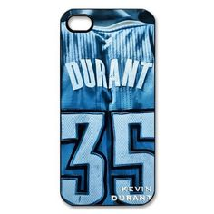 iPhone 5 back cover with Oklahoma City Thunder Kevin Durant ...