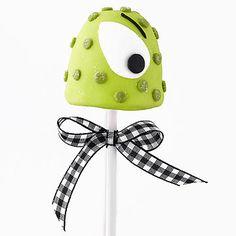 green monster brownie pop
