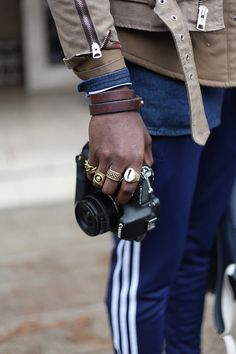 ostentationandstyle:  Street Style - Joshua Kissi of Street Etiquette Photo by - Steven Onoja, Ostentation and Style