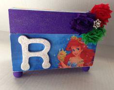 Disney Princess Ariel The little Mermaid personalized Jewelry box