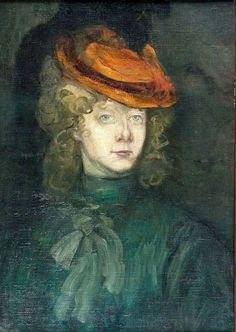 Henri de Toulouse-Lautrec, Portrait of a Young Lady (1882 - 1886)
