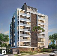 Architecture Building Design, Residential Architecture, Modern Architecture, Trois Rivieres, Building Elevation, Building Concept, Modern Exterior, Commercial Design, Apartment Design