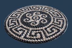 This one reminds me of southwestern basket designs