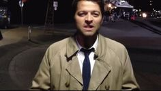 Here's Misha blowing you a kiss (: you're welcome... / Castiel / Supernatural / Misha Collins