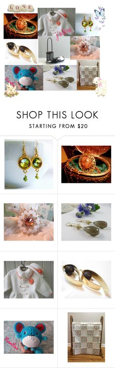 """""""August 15 Etsy Finds"""" by afloralaffair-1 ❤ liked on Polyvore featuring interior, interiors, interior design, home, home decor, interior decorating, Olivine, kitchen, modern and rustic"""