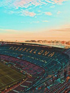 #campnou #fcbarcelona #barcelona #messi Messi Soccer, Soccer Stadium, Messi 10, Lionel Messi, Club Football, Football Stadiums, Football Hits, Barcelona Team, Barcelona Football